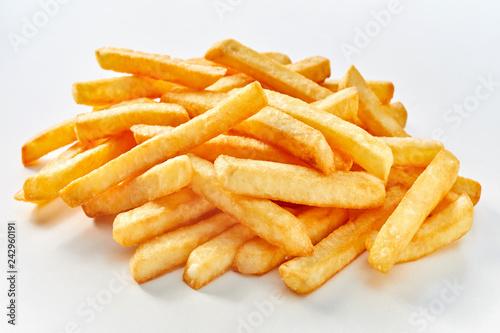 Fototapeta Heap of long french fries obraz
