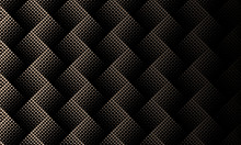 Black Brown Halftone Dotted Abstract Background
