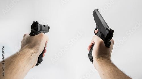 фотография first person shooter pistol