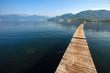 Amazing wooden walkway