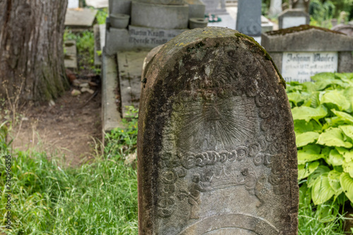 Photo Saxon cemetery, located next to the Church on the Hill in Sighisoara