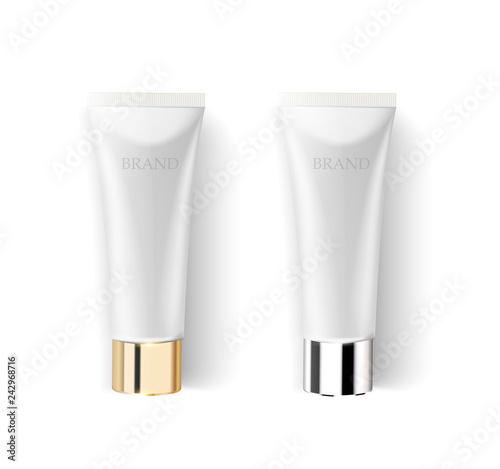 Fotografie, Obraz  Cosmetic cream tube mockup template