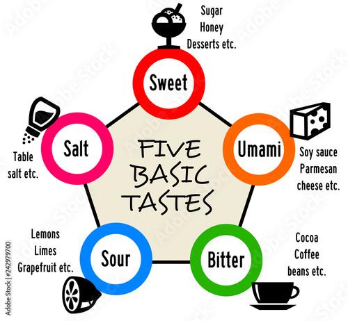 Food taste Canvas Print