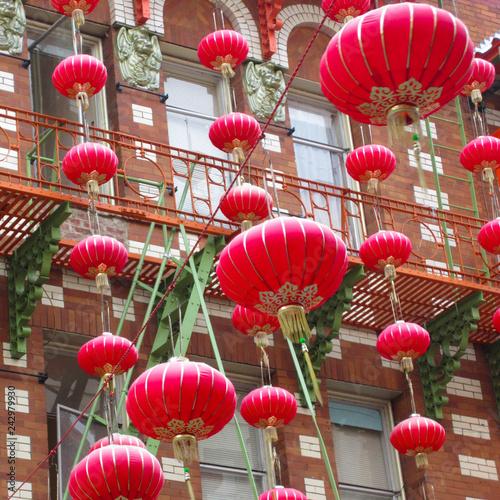 Deurstickers Amerikaanse Plekken Chinatown (San Francisco) / USA