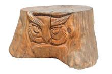Tree Stump Stylized As A Sculp...