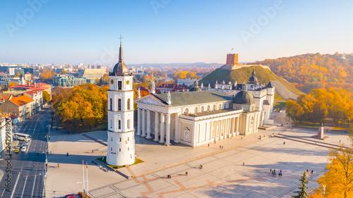 Aerial view of Vilnius, Lithuania
