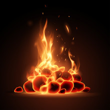 Embers With Flame