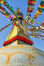 Bodhanath Stupa In Kathmandu V...