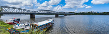 Cruise Boat At Perfume River, Hue, Vietnam
