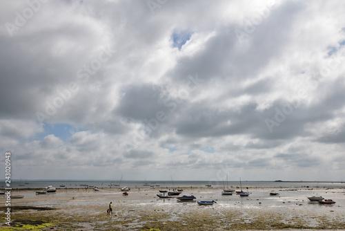 Photo Mer basse au Vieil à Noirmoutier, France