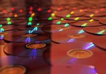 Ausgebreitete CDs 3