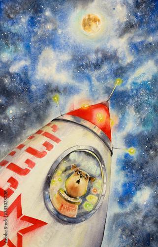 Laika - first dog astronaut...