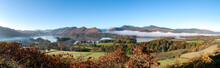 Panorama Of Derwent Water, Lak...