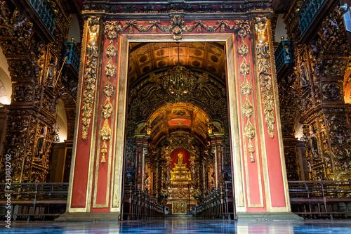 Photo  Gateway of the Monastery of Saint Bento, Rio de Janeiro