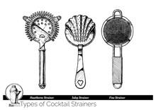 Illustration Of Cocktail Strai...