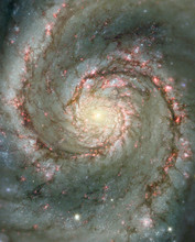 Whirlpool Galaxy M51 (NGC 5194).Hubble Heritage Team (STScI/AURA).N. Scoville (Caltech)