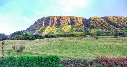 mountain in Northern Ireland, landscape