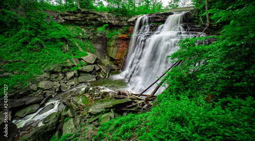 Brandywine Falls in Cuyahoga Valley National Park, Ohio, USA Canvas-taulu