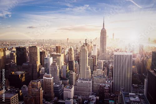 Fototapety, obrazy: New York Skyline - USA