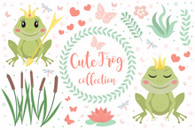 Cute Frog Princess Character S...