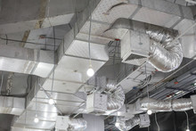 Pipes Of Air Conditioning