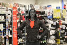 Male Mannequin Wearing Sport Clothing
