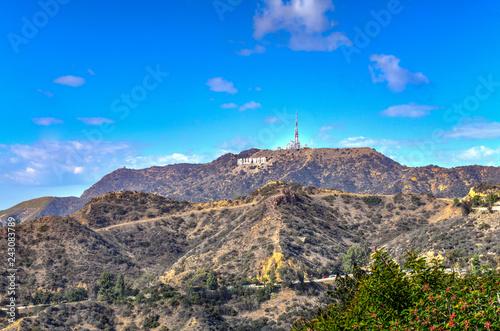 Photo  Hollywood Sign - Los Angeles, California