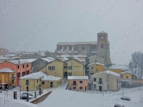 Photo Sant'Angelo dei Lombardi - Scorcio panoramico dal castello