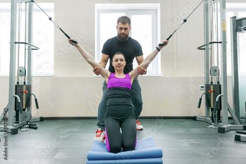 Foto Kinesis technology, kinesitherapy, healthy lifestyle