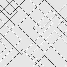 Vector Modern Geometric Square Diamond Shape Pattern. Simple Abstract Background