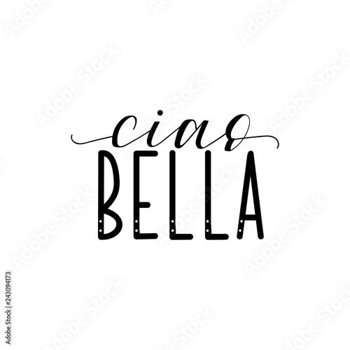 Photo Ciao bella