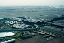 Doha Airport Aerial View From Above