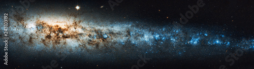 The beauty of the universe: Huge and detailed panorama of the Whale Galaxy Wallpaper Mural