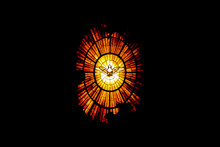 VATICAN CITY, VATICAN - JULY 1, 2017: The Window Of A Cathedral Of St. Peter In Vatican, Holy Spirit