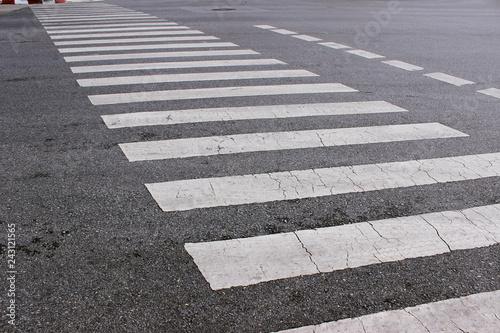Foto cross up cross walk