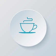 Simple Cup Of Coffee Or Tea. L...