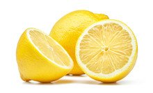 Lemon Isolated On White Backgr...