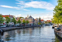 Haarlem Canals And Architectur...