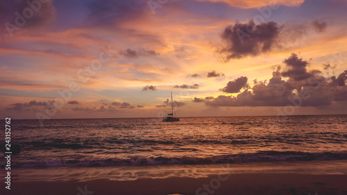 In de dag Schip Couche de soleil a Phuket