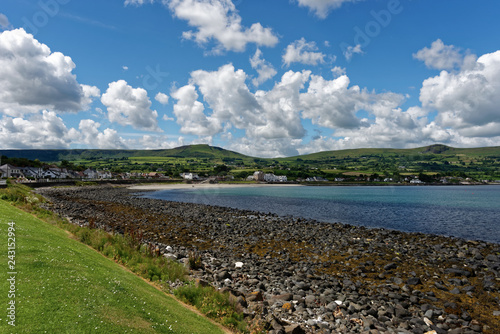 Nordirland - Ballygally - Küste Canvas Print