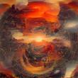 canvas print picture - Armageddon