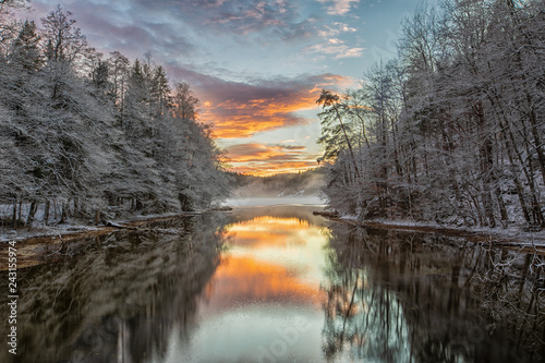 Photo  Indre Avreidkilen Sunset