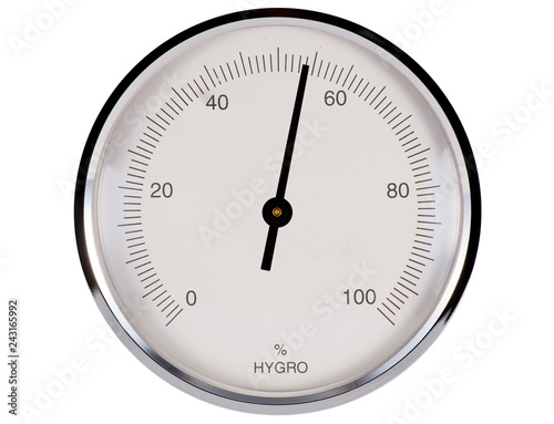 Fotografia  Hygrometer 54%