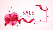 Valentines Day Sale Design Tem...