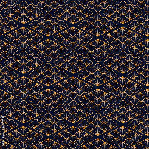 Asian pattern Canvas Print