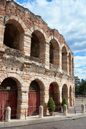 Fotografie, Obraz  Arena of Verona in Italy / Roman Architecture built in the first century