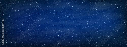 Obraz Starry space background - vector - fototapety do salonu