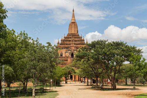 Foto  Sulamani temple in Bagan, Myanmar