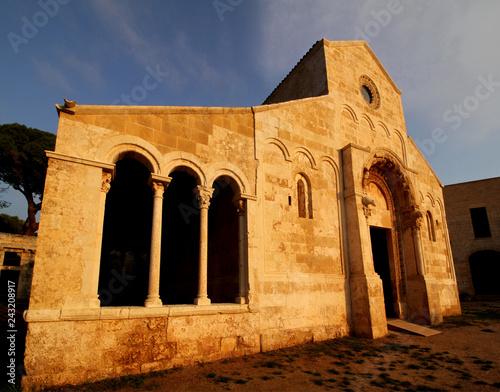Fotografie, Obraz  la chiesa del complesso abbaziale di Santa Maria di Cerrate (Puglie)