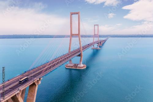 Suramadu bridge located in East Java